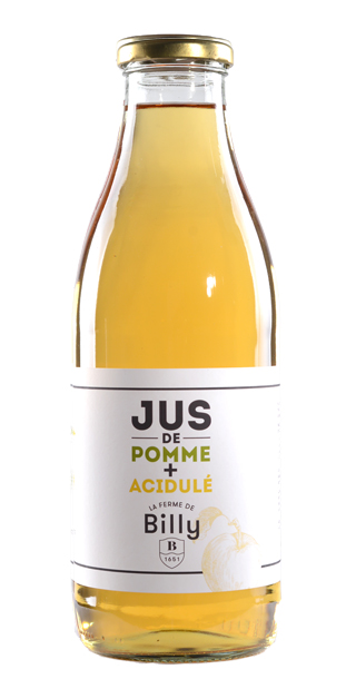 Jus de Pomme Acidulé Ferme de Billy 1L