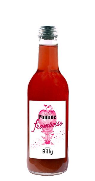 Jus de pomme Framboise 33 cl Domaine de BIlly