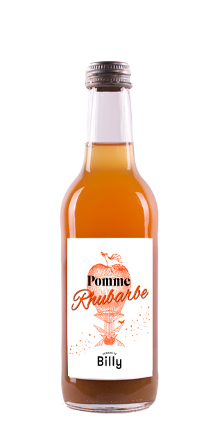Jus Pomme-Rhubarbe 33cl de Domaine de BIlly